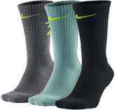Nike Men's 3-pack Dri-Fit Fly V4 Crew Socks