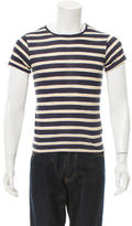 Band Of Outsiders Striped Pullover T-Shirt