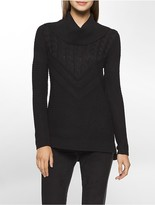 Calvin Klein Mixed Turtle Neck Sweater