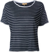 Fay striped knitted T-shirt - women - Silk - S