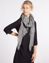 Marks and Spencer Printed Scarf