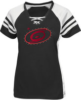 Majestic Women's Carolina Hurricanes Magic Moment Shimmer T-Shirt