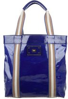 Anya Hindmarch Patent Leather Striped Tote