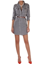 Gingham Check Shirtdress