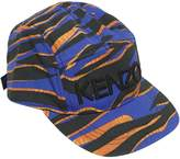 Kenzo Printed Cotton Canvas Baseball Hat