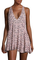 Free People Patterned Peasant Tank