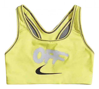 Nike x Off-White Yellow Polyester Tops