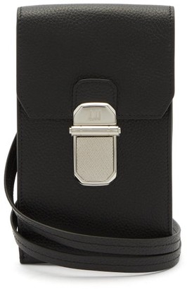 Dunhill Belgrave Leather Phone Case - Black