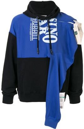 Puma Maison Yasuhiro asymmetric style hoodie