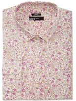 Bar III Men's Slim-Fit Stretch Easy Carel Print Dress Shirt, Only at Macy's