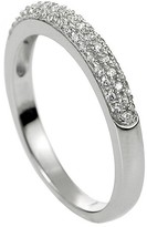 Journee Collection 1 9/10 CT. T.W. Round-cut Cubic Zirconia Wedding Band Pave Set Ring in Sterling Silver - Silver