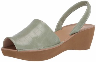 Kenneth Cole Reaction Fine Glass Platform Sandals