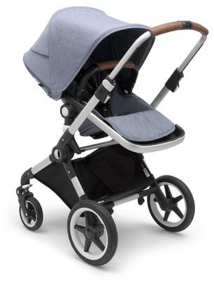Bugaboo Lynx Complete Stroller Aluminum/Blue Melange/Blue Melange