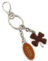 Tod's Leather Charm Keychain