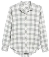 Vineyard Vines Women's Carmel Relaxed Buffalo Check Shirt