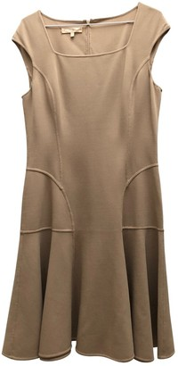 Michael Kors Beige Wool Dresses