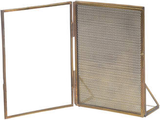 Bidk Home Bidkhome Iron & Glass Photo Frame Tealight Holder