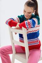 Urban Outfitters UO Color Pop Fair Isle Crew Neck Sweater