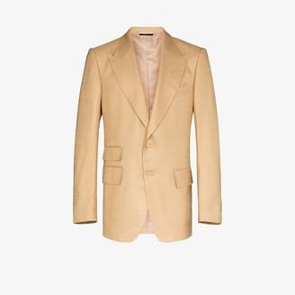 Tom Ford Single-Breasted Silk Blazer