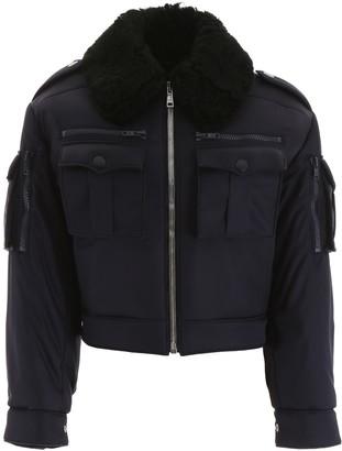 Prada Jacket With Shearling Collar