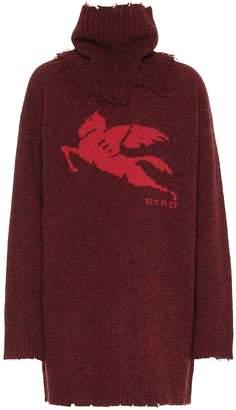Etro Oversized wool sweater