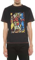 J.W.Anderson Stain Glass Printed T-shirt