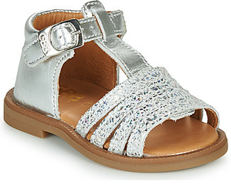 GBB ATECA girls's Sandals in Silver