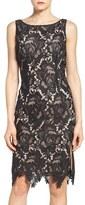 BB Dakota Bristow Lace Sheath Dress