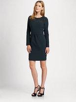 La Via 18 Jersey/Tweed Dress