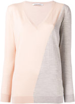 Agnona two-tone jumper - women - Wool - 40