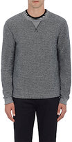 Barneys New York MEN'S COTTON-BLEND FRENCH TERRY SWEATSHIRT