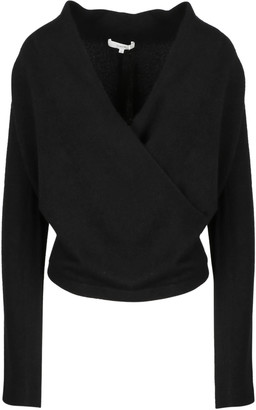 Vince Wrap Front Pullover