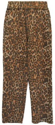 NSF Clarence Leopard Relaxed Track Pants
