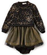Jessica Simpson Baby Girls 12-24 Months Star-Print Mesh Dress