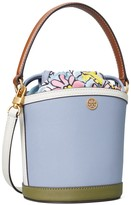 Thumbnail for your product : Tory Burch Robinson Color-Block Mini Bucket Bag