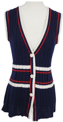 Ted Lapidus Navy Wool Knitwear for Women Vintage