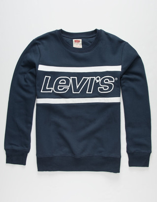 Levi's Colorblock Boys Pullover Sweatshirt