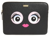 Kate Spade Monster Laptop Sleeve - Black