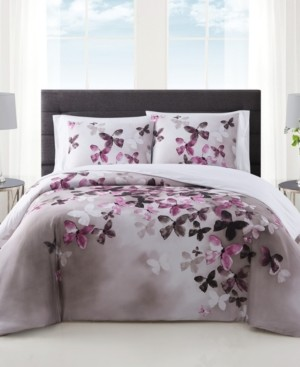 Vince Camuto Home Vince Camuto Lissara 3 Piece Duvet Set, King Bedding