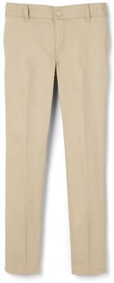 French Toast Girls 4-20 & Plus Size Adjustable Waist Twill Pant
