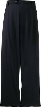 Maison Margiela Cut-Out Panel Tailored Trousers