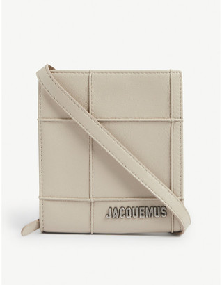 Jacquemus Le Gadjo leather wallet-on-strap