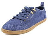 Rocket Dog Heather Women Round Toe Canvas Blue Sneakers.
