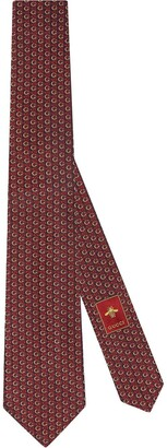 Gucci Interlocking G Horsebit tie