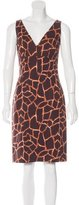 Dolce & Gabbana Printed Sheath Dress