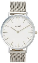 Cluse Women's 'La Boheme' Mesh Strap Watch, 38Mm