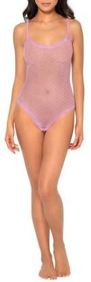 Smart & Sexy Women's Sherry Lace & Mesh Bodysuit