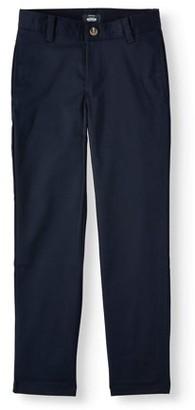 Arrow Slim Aroflex Super Soft Stretch Twill Flat Front Pant (Little Boys & Big Boys)