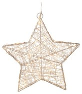 "Sterling 16"" LED Lighted Star Silver"