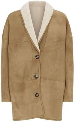 Etoile Isabel Marant Reversible Shearling Carman Coat